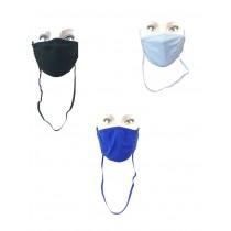Pack 6 pezzi Fascia protettiva viso summer con laccetto regolatore e anticaduta