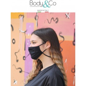 Pack 6 pezzi Fascia protettiva viso con laccetto regolatore e anticaduta
