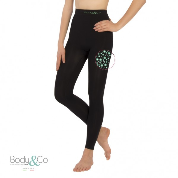 Sports Legging with fat burning caffeine microcapsules