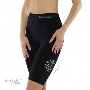 Sports Short with fat burning caffeine microcapsules