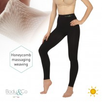Day Legging with anti-cellulite massaging effect