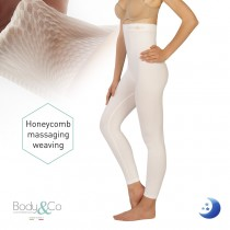 Night Legging with anti-cellulite massaging effect