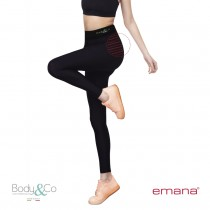 High-waist sports Legging Emana® fiber