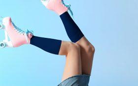 La rivincita dei gambaletti ad azione cosmetica